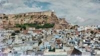 Videonauts backpacking Indien Rajasthan Jodhpur Mehrangarh Fort
