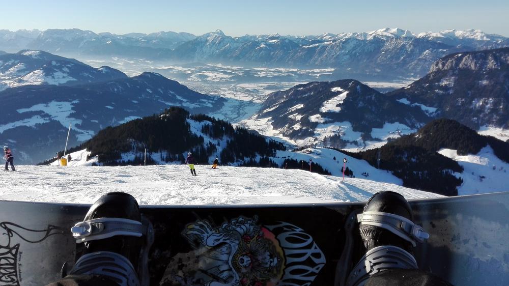 Snowboarding Söll 2016