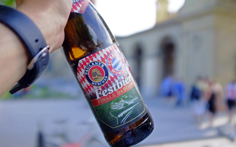 Videoanuts FCB Finale dahoam Bier