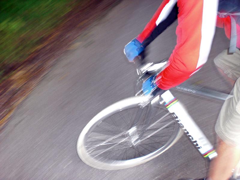Videonauts Chiemsee Radtour Bianchi pista