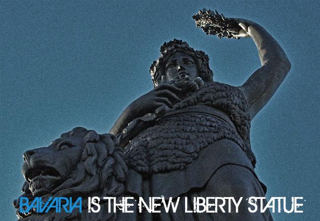 Videonauts Bavaria is the new liberty statue
