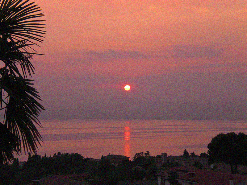 Videonauts Gardasee Sunset