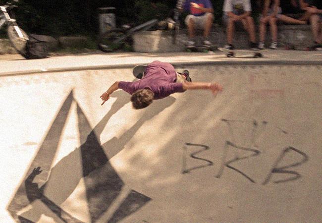 Videonauts Skatepark München Riem - chief videonaut pool