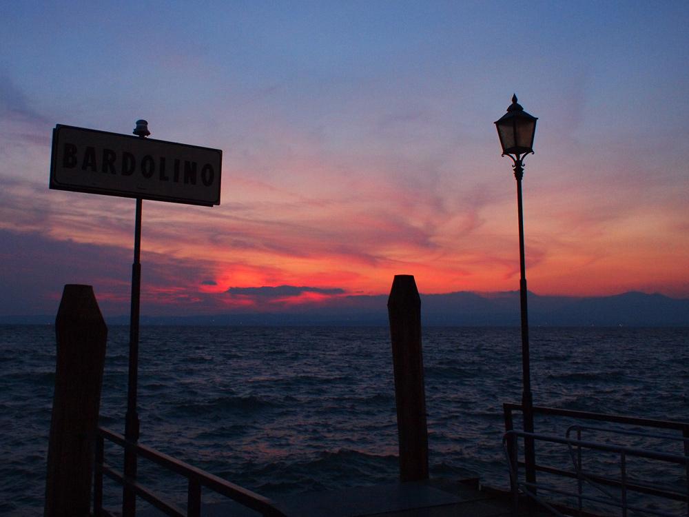Videonatus Gardasee Bardolino Sunset
