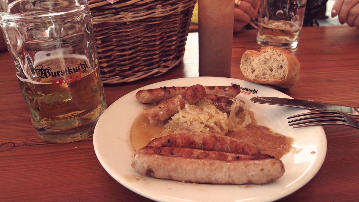 Regensburg Würstchen Wurstkuchl