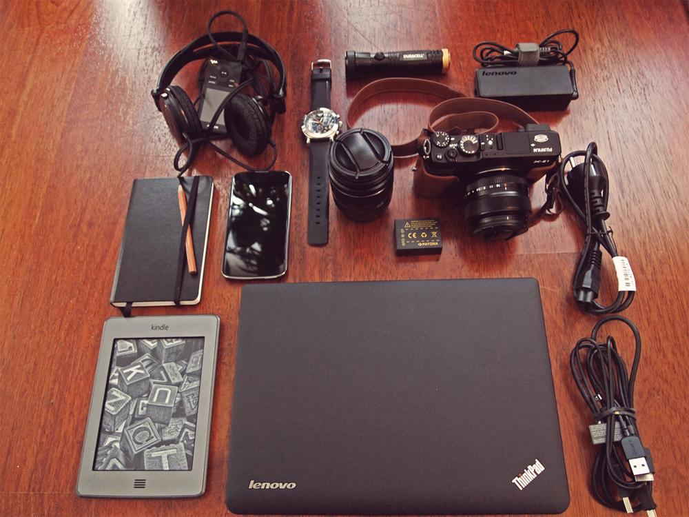 Videonauts Gadget packliste Sabbatical