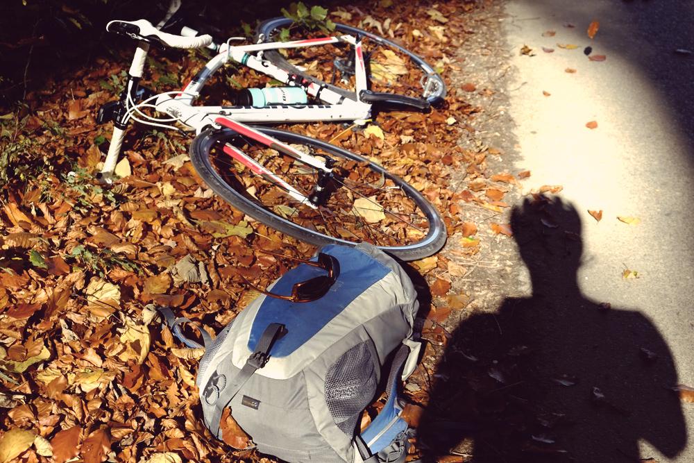 Videonauts Herbstrunde Bianchi Rennrad