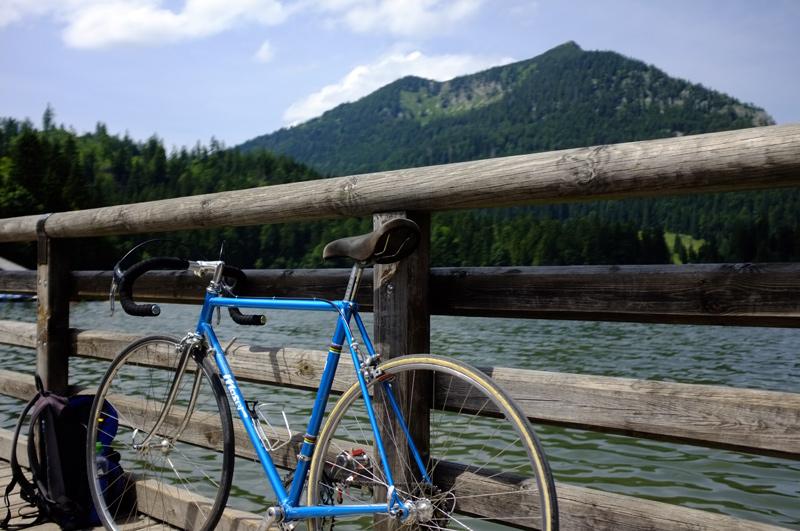 Videonauts Moser vintage Spitzingsee Radtour