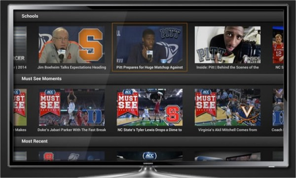 ACC Digital Network App Gets Quick Launch on Fire TV Using ...