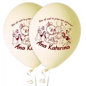 Baloane personalizate pentru nunta sau botez