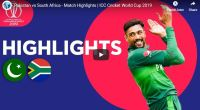Pakistan vs South Africa Highlights