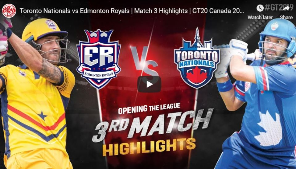 GT20 3rd Match Highlights