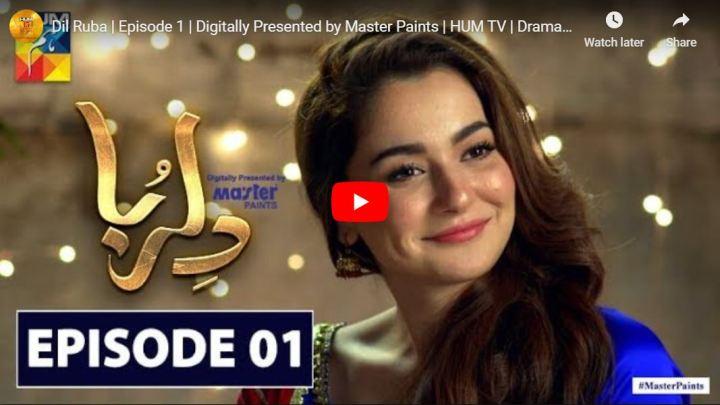 Dilruba Episode 1 Hum TV