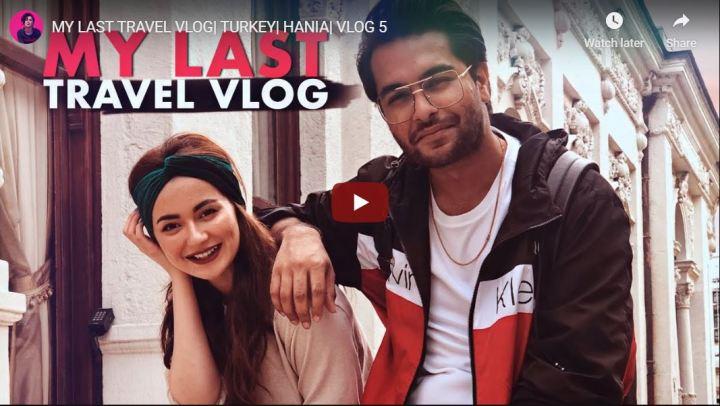 Hania Amir Vlog Turkey