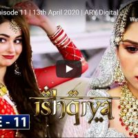 Ishqiya Episode 11 | Hania Aamir Feroze Khan Ramsha Khan | ARY Digital Drama