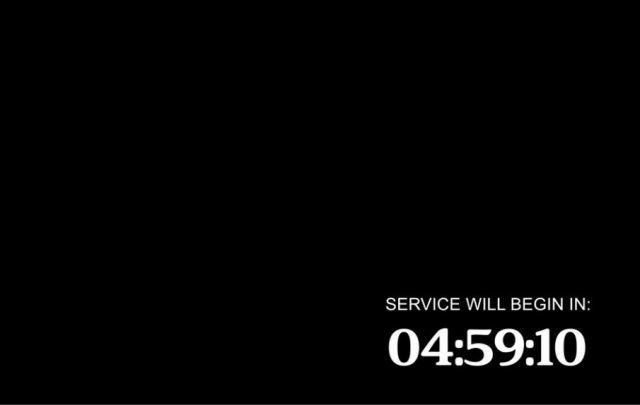 HD 720p Chroma Key Countdown