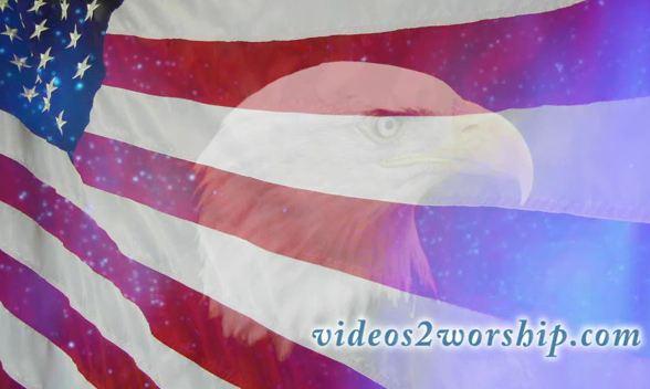 July 4th Eagle Patriotic Loop