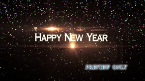 Happy New Year Motion Background