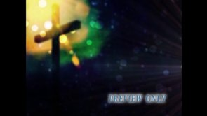 Easter Cross And Flare Worship