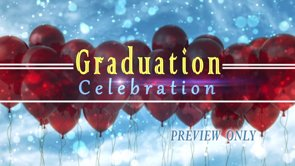 Graduation: Balloons And Confetti