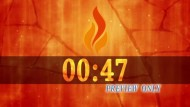 Flame Of Fire Five Minutes Countdown