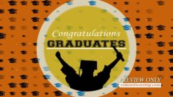Graduate Celebration Motion Background