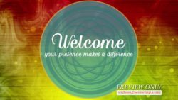 Welcome You Make A Difference