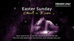 Easter Sunday Christ Is Risen