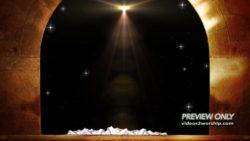 Jesus Is Risen Empty Tomb Motion
