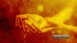 Open Hands Prayer Background