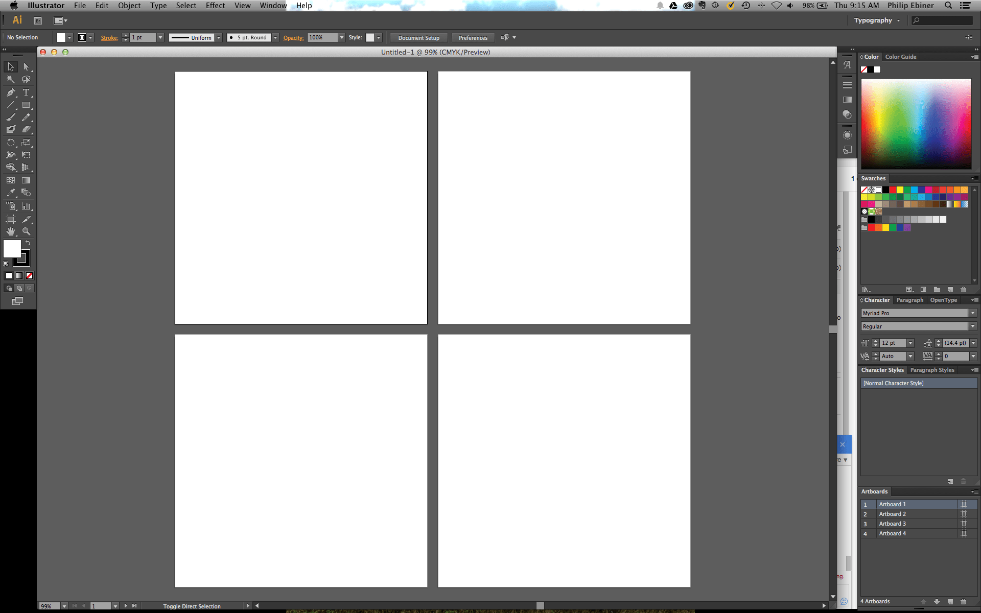 How To Create Multiple Artboards In Adobe Illustrator And
