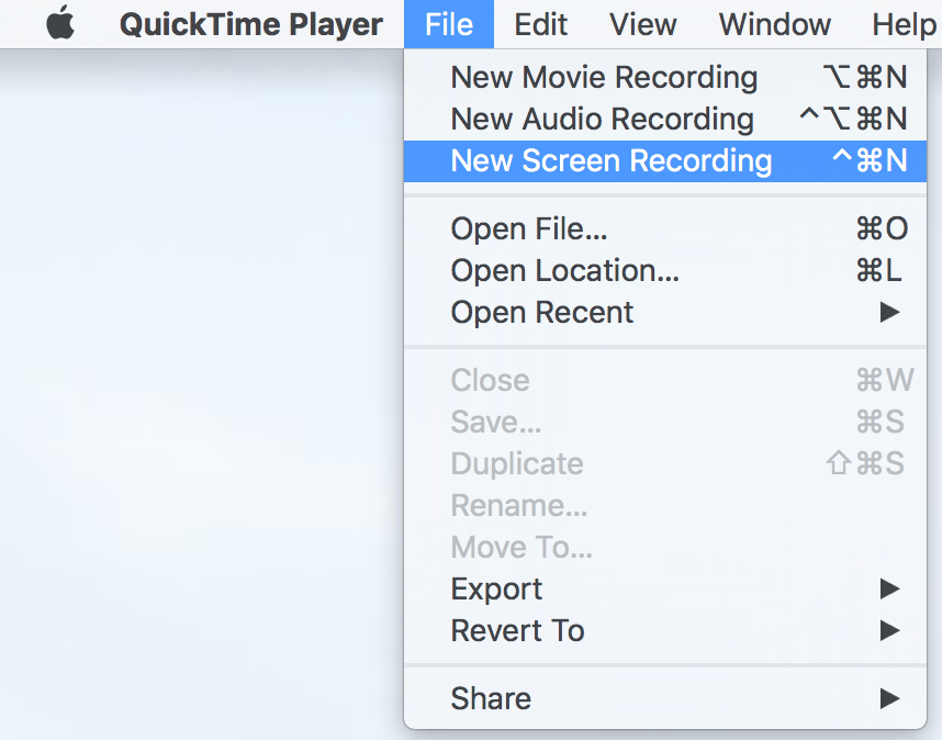 quicktime player screen recording with sound