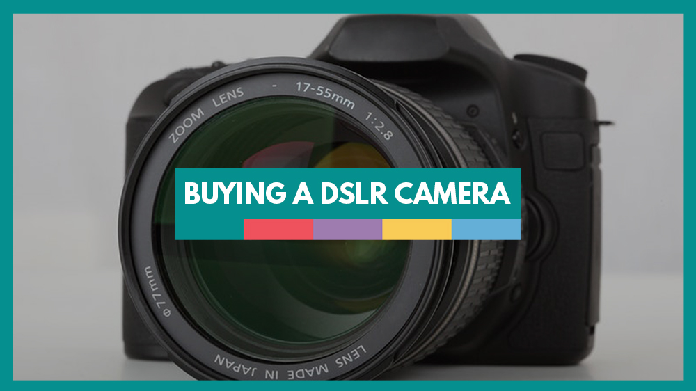 Digital camera buying guide for photography.