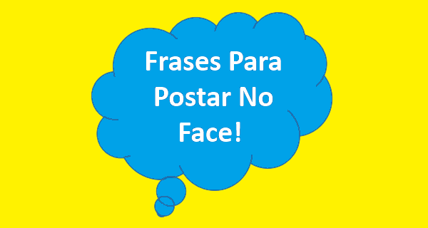 frases para postar no face