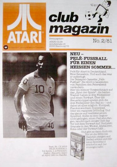 Ausgabe vom Februar 1981. (Bild: Atari)