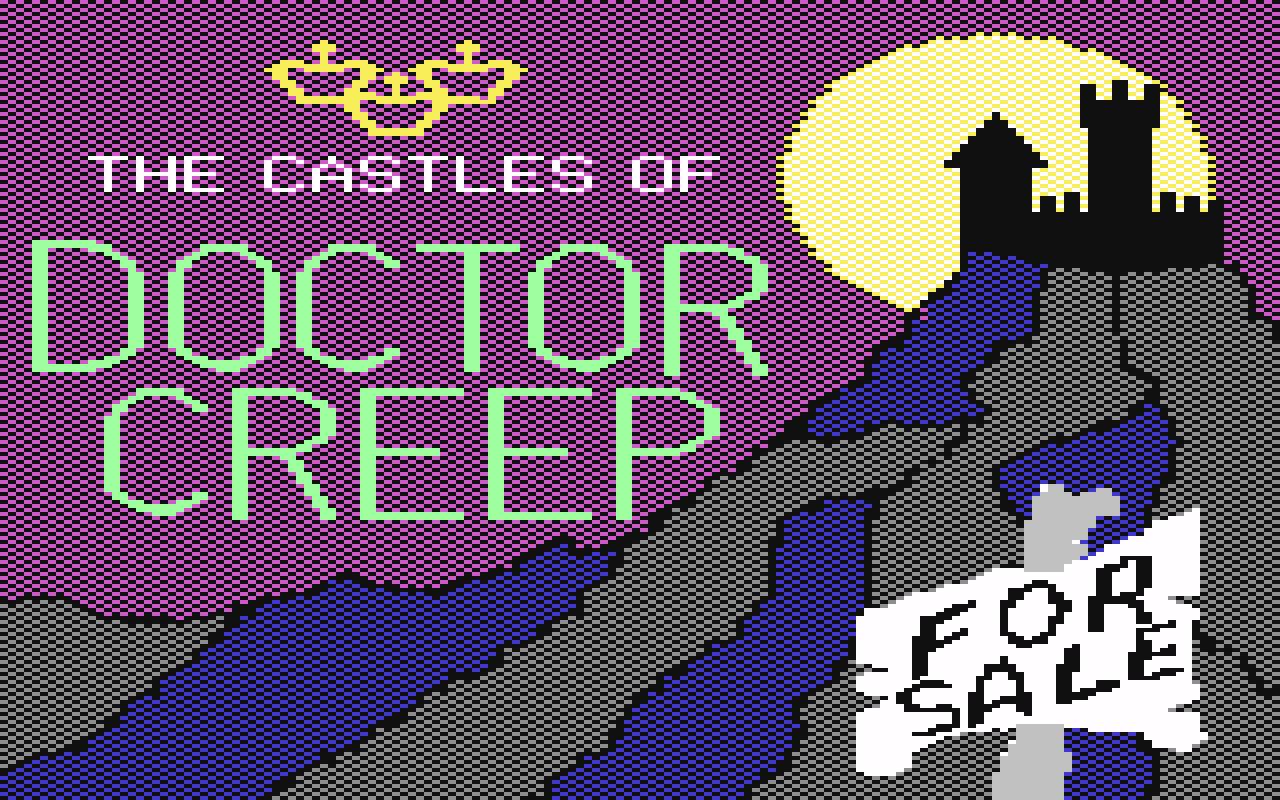The Castles of Dr. Creep von Brøderbund aus dem Jahr 1984. (Bild: Brøderbund)