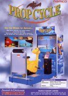 Prop Cycle hat gewisse Ähnlichkeiten zu Pilotwings 64. (Bild: Namco)