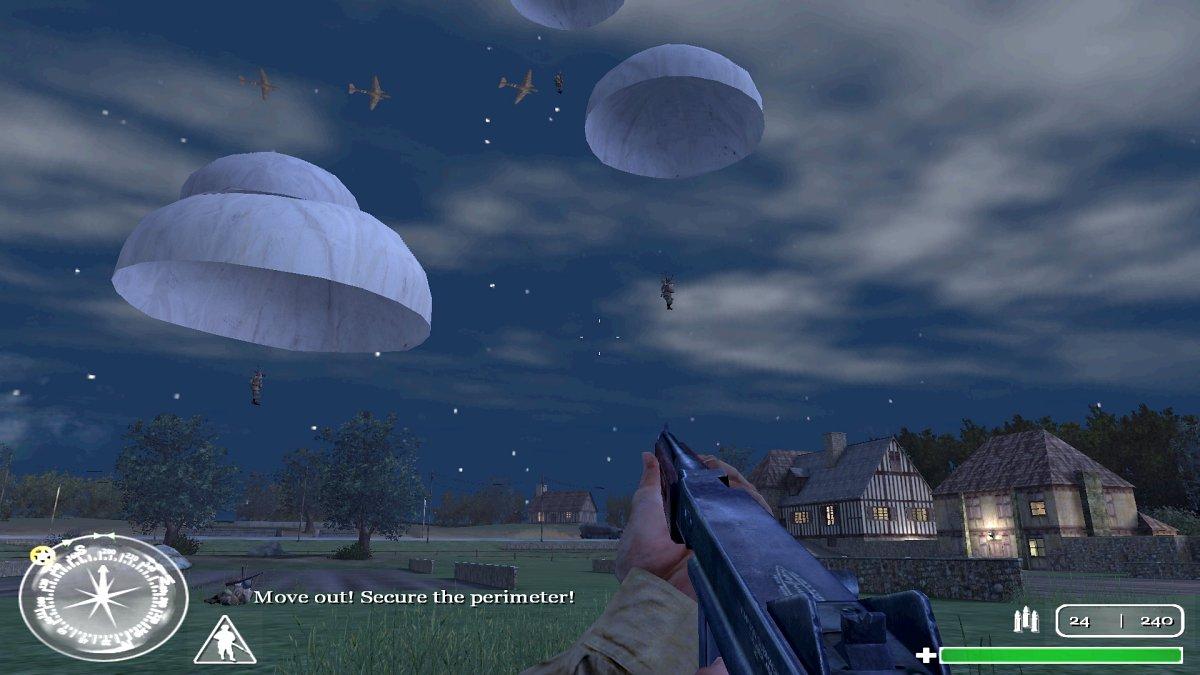 Bildschirmfoto von Call Of Duty. (Bild: André Eymann)