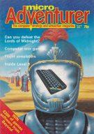 """Im Königreich der Presse gibt´s 1984 Game-Hefte für jeden Geschmack, z.B. """"micro Adventurer"""" für Abenteuer- und Rollenspieler. (Bild: Winnie Forster)"""