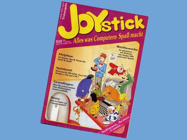 Die erste Ausgabe der Spielezeitschrift Joystick erschient 1988. (Bild: André Eymann)