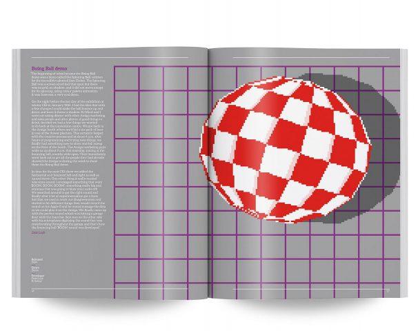 Die Boing Ball-Demo wurde 1984 kurz vor der CES von Dale Luck und R. J. Mical erstellt und hat die Besucher aus den Socken gehauen. (Bild: Bitmap Books)