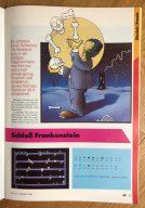 """""""Schloß Frankenstein"""" zum Abtippen. Ein Programm für den ZX Spectrum von Oliver Joncker. (Bild: André Eymann)"""
