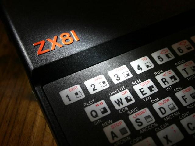 Eine Nahaufnahme der Tastatur des ZX81. (Bild: Barney Livingston, flickr.com/photos/barnoid)