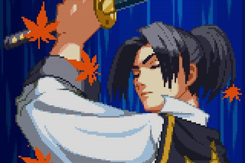 Hauptcharakter Kaede (zu dt. Ahorn) in der Eröffnungssequenz des Spiels. (Bild: SNK)