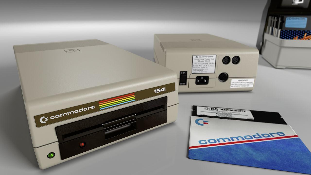 Die 1541 von Commodore ist ja quasi ein eigenständiger Computer. (Bild René Achter)