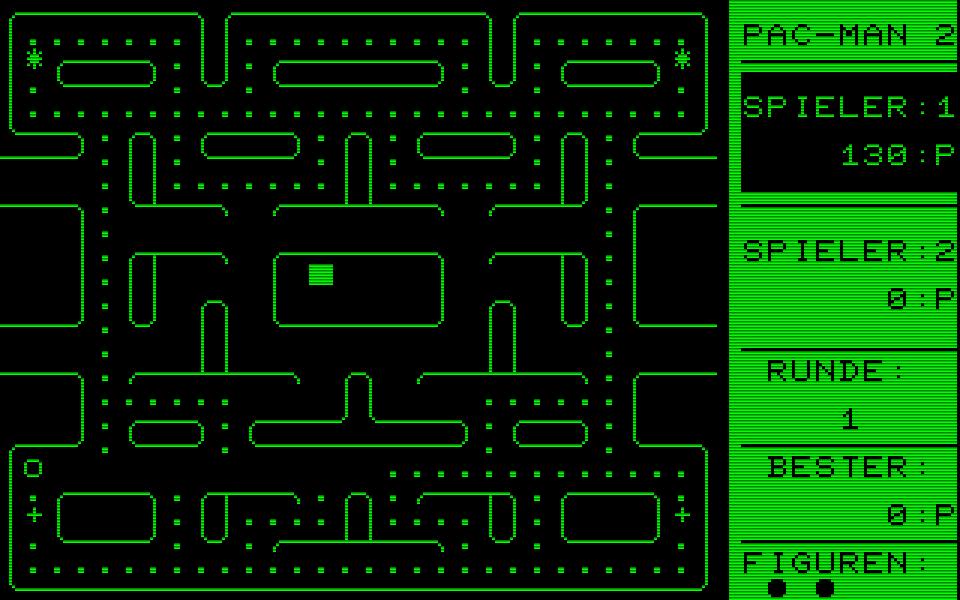 Die Assembler-Adaption Pac-Man 2 von 1982 war Henriks zweite Version des erfolgreichen Pillenfressers aus der Spielhalle. (Bild: Henrik Wening)