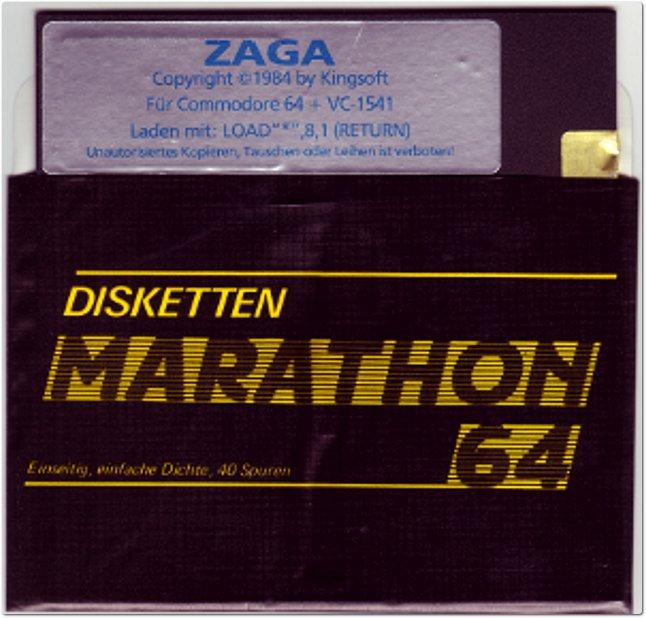 Sogar die renommierte Computerzeitschrift 64er schrieb im Januar 1985 über Zaga: Es werden Erinnerungen an Zaxxon wach. Allerdings wurde hier der dreidimensionale Eindruck noch etwas verbessert ... (Bild: Henrik Wening)