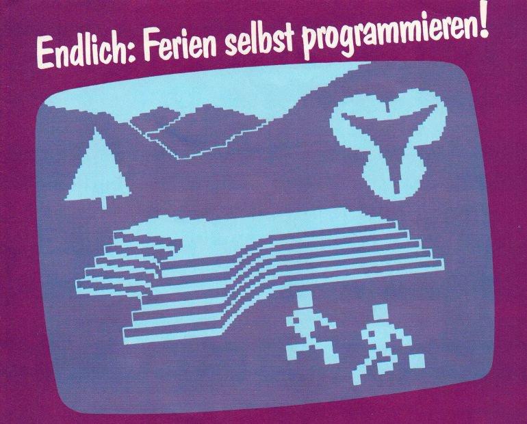 Aus dem Prospekt des Hotels Sauerland Stern von 1984 - Endlich: Ferien selbst programmieren! (Bild: Hotel Sauerland Stern)