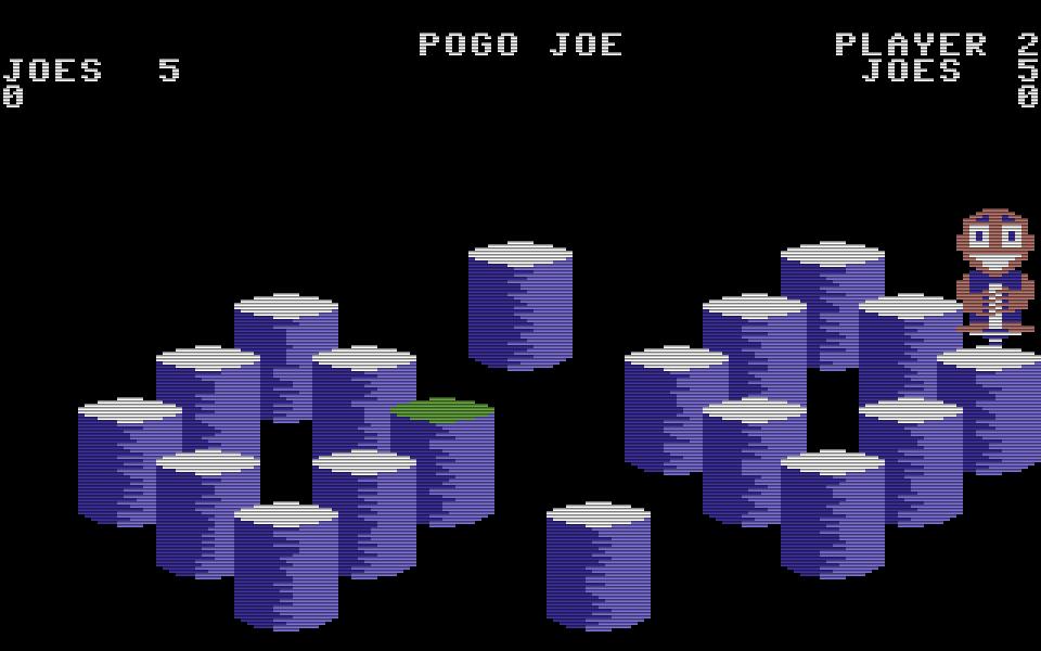 Hüpfen was das Zeug hält: Pogo Joe springt, im Gegensatz zu seinem Vorbild Q*Bert, über Tonnen statt über Quader. (Bild: Screenplay)