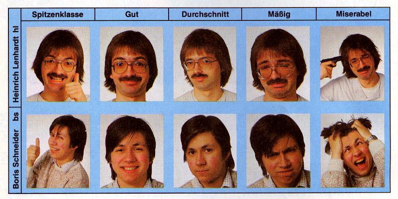 Heinrich Lenhardt und Boris Schneider-Johne: stimmungsvolle Spiele-Bewertungen für die Generation C64. (Bild: Markt & Technik)
